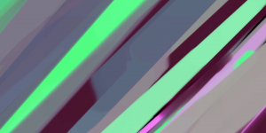 Abstract Green Purple