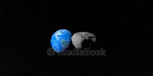 Asteroid Towards Earth