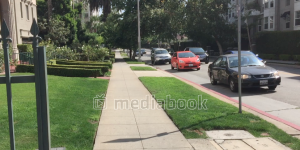 California Street Sidewalk