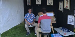 Caricature Stand